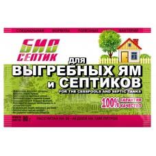 Биосептик для выгребных ям и септиков 80г(36шт)
