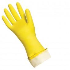 Перчатки латексные прочные S(12пар) Komfi
