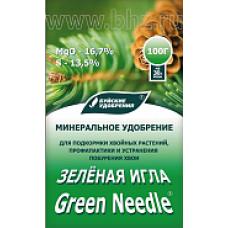 Зеленая игла водорастворимое 100гр (20шт) БХЗ