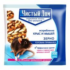 Зерновая приманка от крыс и мышей 200г(50 шт) ЧД