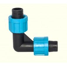 Капельный полив Угол для капельной ленты зажимной (25/800 шт)SL-002.3
