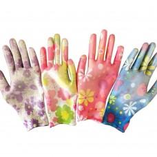 Перчатки Женские Микс с рисунком (12шт)