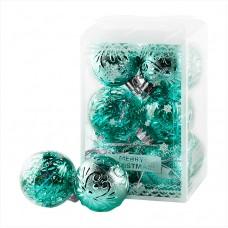Набор шаров 6см 12 шт Зеленый 6 ADКЕ12
