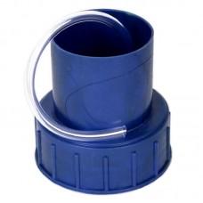 Крышка Винная на бутыль 66мм с трубкой гидрозатвор